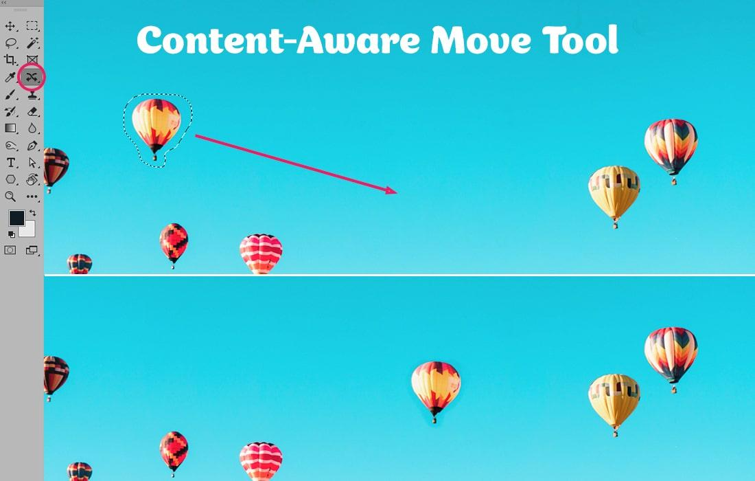How to use Content-Aware Move Tool in Photoshop