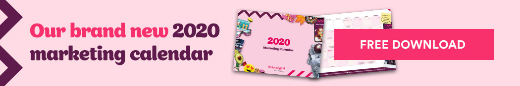 Download our Free 2020 Marketing Calendar