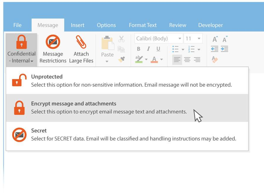 Office 365 email encryption and Gmail Encryption with Egress - UK